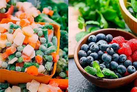 Свежие или замороженные фрукты и овощи?