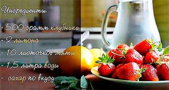 Klubnichnyiy_limonad_s_myatoy_Ingredientyi